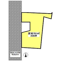 つくばエクスプレス みどりの駅 バス15分 台町新田下車 徒歩12分の賃貸土地
