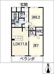すまいるKATOIII[1階]の間取り