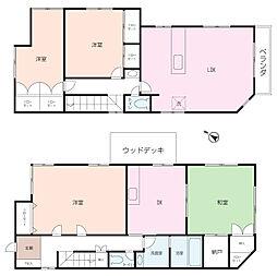 [一戸建] 神奈川県横須賀市坂本町2丁目 の賃貸【/】の間取り