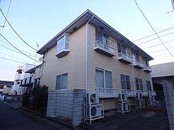 埼玉県草加市草加5丁目の賃貸アパートの外観
