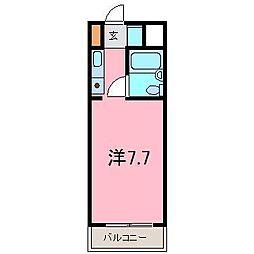 アオヤマハウス[1A号室]の間取り