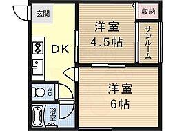 矢田駅 4.9万円