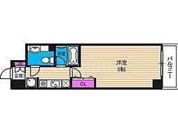 ロジェ今福鶴見[3階]の間取り