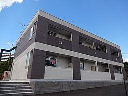 神奈川県茅ヶ崎市室田3丁目の賃貸アパートの外観