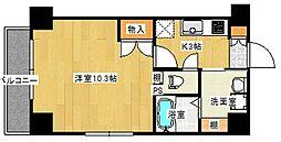 K38[401号室]の間取り