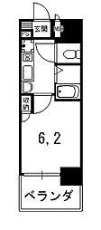 エステムコート御所南II[4階]の間取り
