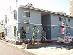 愛知県あま市下萱津九反田の賃貸アパートの外観