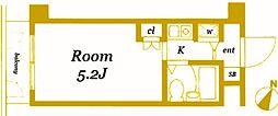 ダイアパレス三ツ沢公園西館[2階]の間取り