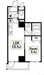 新築 アートヴィラージュ亀戸[4階]の間取り