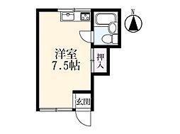 アパートメント 12[204号室]の間取り