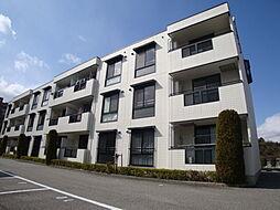 兵庫県宝塚市宝松苑の賃貸アパートの外観