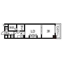 BPRレジデンス久屋大通公園[9階]の間取り