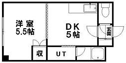 ドマーニ16[207号室]の間取り