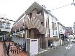 兵庫県神戸市垂水区山手2丁目の賃貸アパートの外観