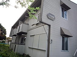 埼玉県桶川市大字下日出谷の賃貸アパートの外観