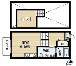 Chene八千代台[2階]の間取り