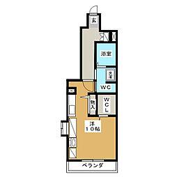 ベルウッド五軒家[1階]の間取り