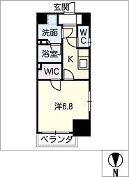 エステムプラザ名古屋丸の内[4階]の間取り