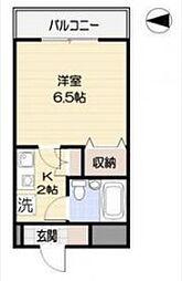 カームステージ鷺宮 サギノミヤ[212号室]の間取り