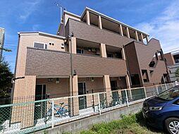 千葉県千葉市稲毛区稲毛台町の賃貸アパートの外観
