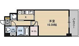 エスリード福島リバーフロント[11階]の間取り