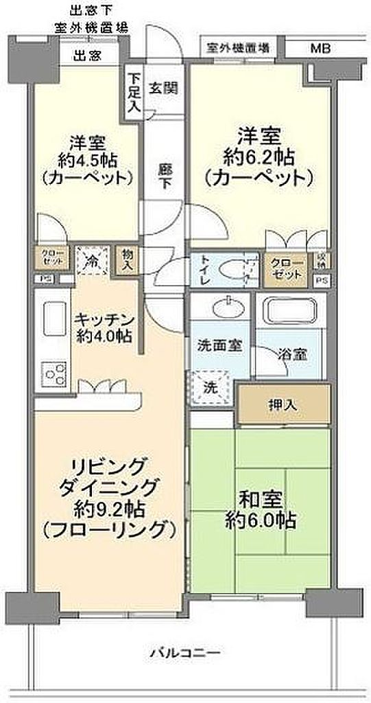 間取り(間取り図)