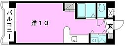 メゾンドール室町[202 号室号室]の間取り