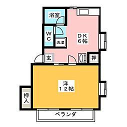 キャロットハウス[2階]の間取り