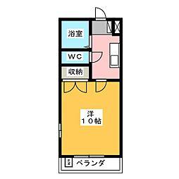 めぞん志茂I[1階]の間取り