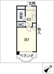 エトワ−ル上条[3階]の間取り