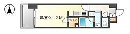 エルスタンザ黒川[9階]の間取り