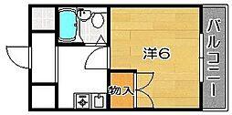 ハッピーパレス[3階]の間取り