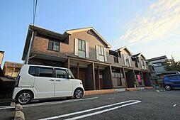 京都府京都市山科区音羽沢町の賃貸アパートの外観