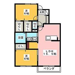 (仮称)中央高町メゾン[1階]の間取り