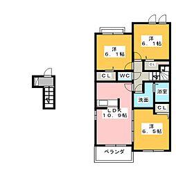 ソフィア コート[2階]の間取り