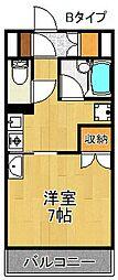 セジュールりんくう[4階]の間取り