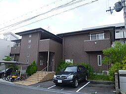 大阪府箕面市小野原西6丁目の賃貸アパートの外観
