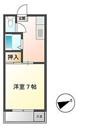 マイハウスあつみ[2階]の間取り