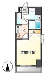 PRESTAGE 名駅[9階]の間取り