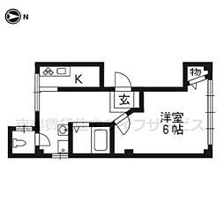 武岡ビル[4階号室]の間取り