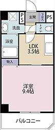 グレイス第8マンション[808号室]の間取り