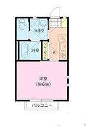 ALIVIE WEST 新松戸[1階]の間取り
