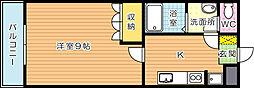 ソルリオ[2階]の間取り