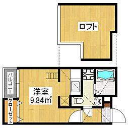 YS吉塚駅東1[2階]の間取り