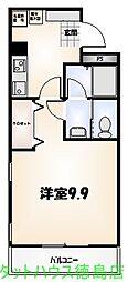 フィールドオブウィステリア[506号室]の間取り