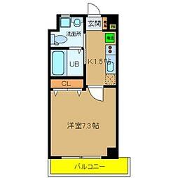 Ritz新今里[5階]の間取り