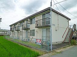 滋賀県栗東市安養寺1丁目の賃貸アパートの外観