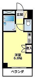 愛知県豊田市宮上町7丁目の賃貸マンションの間取り