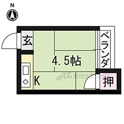 一乗寺駅 1.8万円