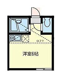 クレール 浅田[1階]の間取り